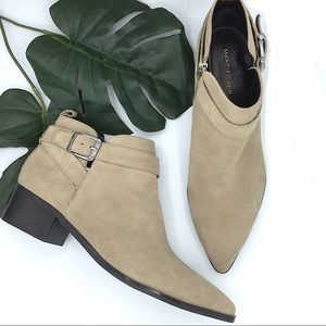 Marc Fisher | New Suede Leather Ankle Booties 10M